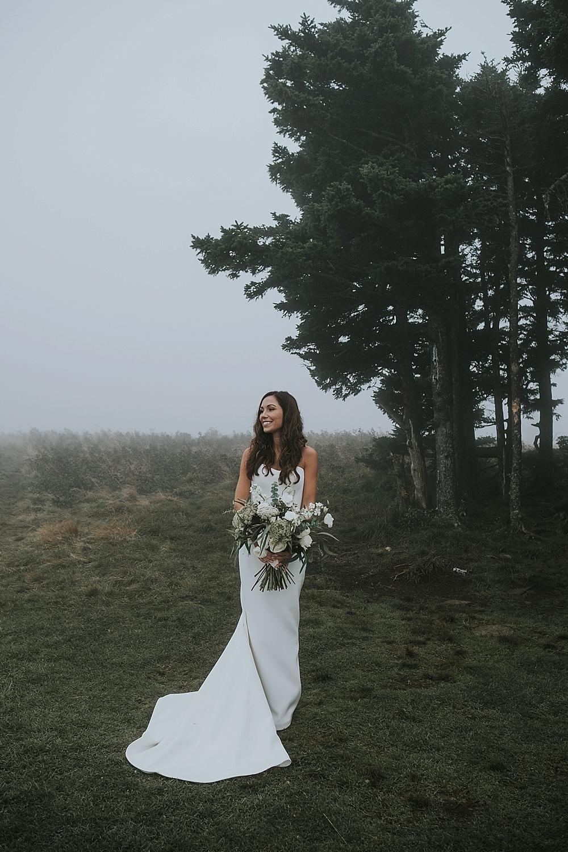 North Carolina elopement