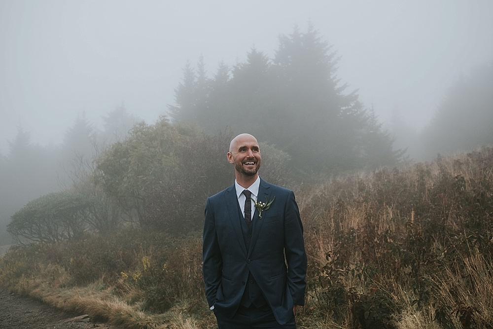 dark and moody boone wedding photographer