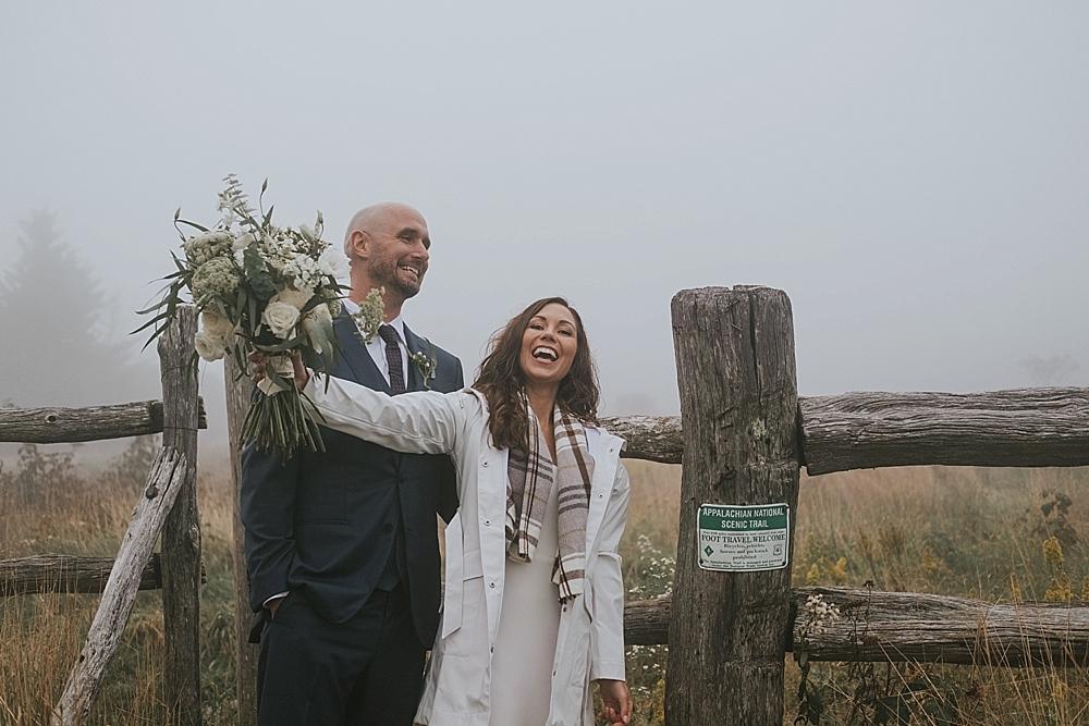 appalachian trail wedding