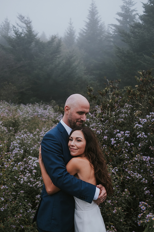 boone mountaintop elopement location