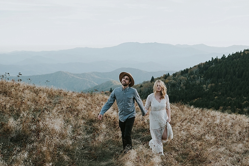 Roan mountain state park engagement
