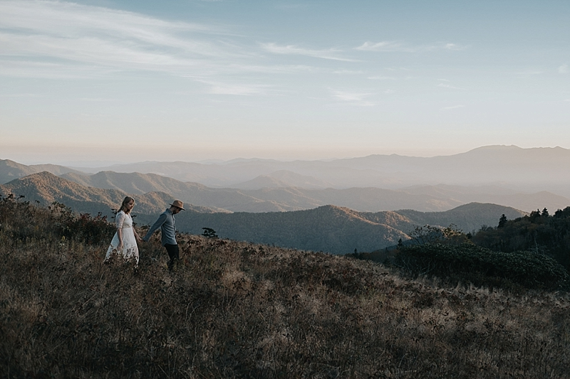 north carolina blue ridge mountain elopement location